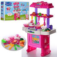 Детская кухня Свинки Пеппы XZ-368  с посудой, 30 предметов