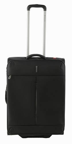 Черный супер легкий 2-колесный тканевый чемодан 74/87 л. Roncato IRONIC 5102/01