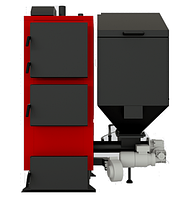 Пеллетный котел с автоматической подачей топлива Альтеп КТ2Е-SH 17 кВт