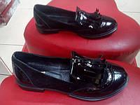 """Модные женские туфли """"лоферы"""" кожа замша  LEXI черные."""