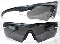 Тактические очки ESS Crossbow 3 линзы, черная оправа, вставка для диоптрий