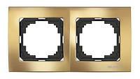 Nilson Touran Lux Двойная Рамка Золото (ALT)