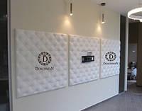 Мягкая стена из экокожи, ткани, кожи по размерам заказчика