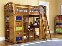 Двухъярусная кровать-чердак Мираж