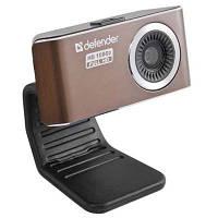 Веб-камера Defender G-lens 2693 FullHD (63693) видео к 1920x1080, фото до 12.0мПикс, встроенный микрофон