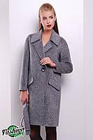 Женское Пальто П-011 Серый