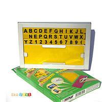 Набор умных кубиков с тренажером для письма, Английский, Тестплей