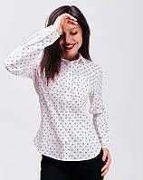 Блуза груди расположены два небольших кармана