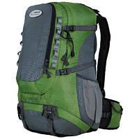 Рюкзак туристичний Terra Incognita Across 35 green / gray для пішого та гірського туризму, для екстр