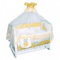 Детский постельный комплект Мой мышонок (8 элементов)  Тигрес КТ-0052