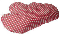 Интерьерная подушка Тучка в белую полоску
