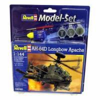 Сборная модель Revell Вертолет AH-64D Longbow Apache 1:144 (64046)