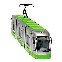 """Игрушечные машинки и техника «Dickie Toys» (3315105) городской трамвай """"City Liner"""", 46 см (зелёный)"""
