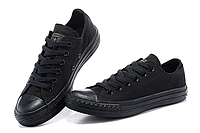 Кеды Converse All Star черные низкие Размер: 35-44