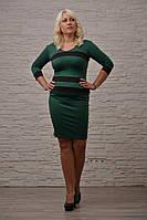 Платье женское больших размеров бат 177 Б $ красное,зеленое