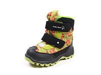 Детская зимняя обувь термо-ботинки B&G TS-ZTE132-011I (Размеры: 22-27)