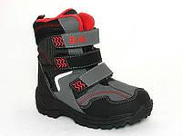 Детская зимняя обувь термо-ботинки B&G TS-R161-3202 (Размеры: 27-34)