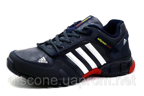 Кроссовки Adidas Adipower Boost, мужские, темно-синие, р. 41 42
