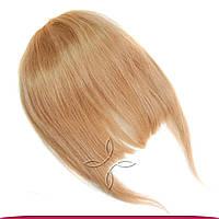 Накладная челка из натуральных волос №16