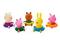 Свинка Пеппа и её друзья резиновые (Peppa Pig)