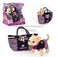 Интерактивная собачка Кикки М 1620 + сумка