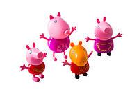 Свинка Пеппа и её друзья пластик (Peppa Pig) 4 шт