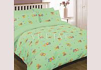 Комплект постельного белья Вилюта детское ранфорс 6112 зеленый