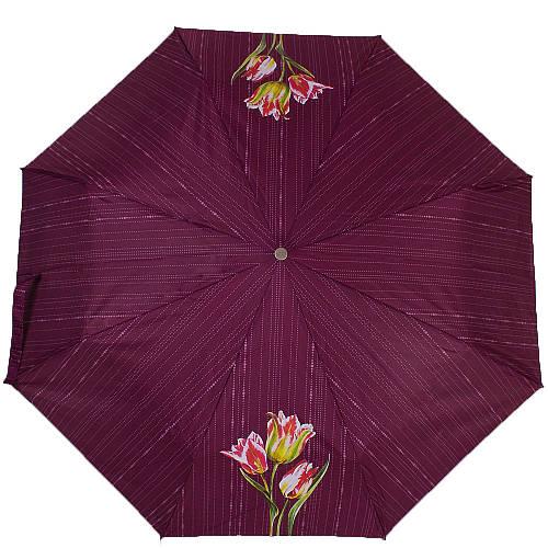 Зонт женский модный автомат AIRTON (АЭРТОН) Z3911-5178 фиолетовый, антиветер.