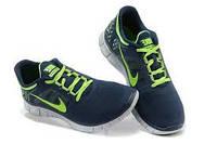 Мужские кроссовки Nike free run 3.0 Blue-Green