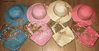 Детская шляпа+сумка лето (32)
