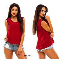 Женская летняя блузка 120 жан