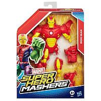 Разборные фигурки супергероев, Железный человек - Iron Man, Super Hero Mashers, Hasbro