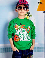 Кофта Angry Birds для мальчика. 110, 120, 130, 150 см