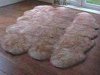 Ковер из 6-х овечьих шкур (овчины)