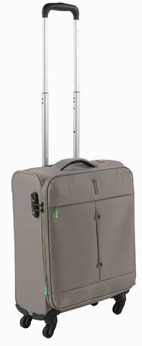 Малый тканевый 4-колесный чемодан 40/46 л. Roncato IRONIC 5123/65 бежевый