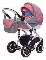 Детская коляска универсальная 2 в 1 Lara Len 90L Adamex