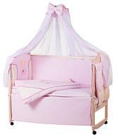 Комплект детского постельного в манеж Ellit Украина 60914, мишка на месяце