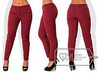 Женские стильные брюки в больших размерах (разные расцветки) t-1515690