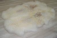 Ковер из 4-х овечьих шкур (золотистый)