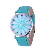 Женские часы стильный дизайн (Бирюза)