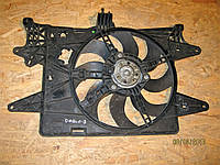 Вентилятор и диффузор радиатора Фиат Добло / Fiat Doblo 1.4, 1.6i - 51774951, 5 177 4951