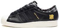 Мужские кроссовки Adidas Superstar (Адидас Суперстар) черные