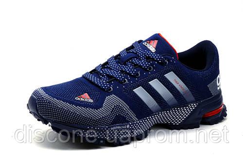 Кроссовки Adidas Marathon TR 21, мужские, текстиль, синие