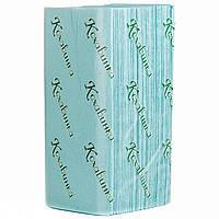 Бумажные полотенца v 160 лист Кохавинка зеленые