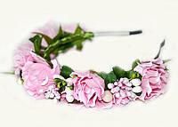 Обруч украшение для волос Розы