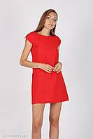 Молодіжна сукня без рукавів (червона)