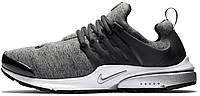 Мужские кроссовки Nike Air Presto (Найк Аир Престо) серые
