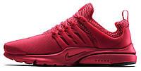 Мужские кроссовки Nike Air Presto (Найк Аир Престо) красные
