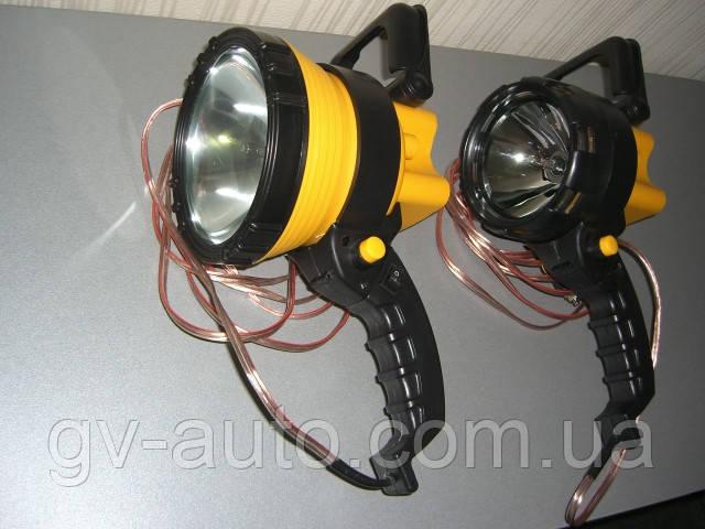 Новинка ! Фара искатель 75-02 ,(Фароискатель),75W HID XENON (4800люмен).Лампа фара для охоты.