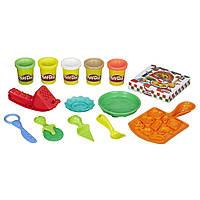 Игровой набор пластилина Play-doh Пицца. Оригинал Hasbro